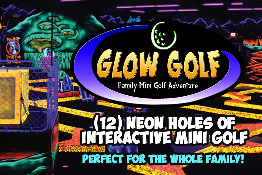 Glow Golf - Glow in the Dark Mini Golf
