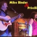 Mike Binder and Priscilla